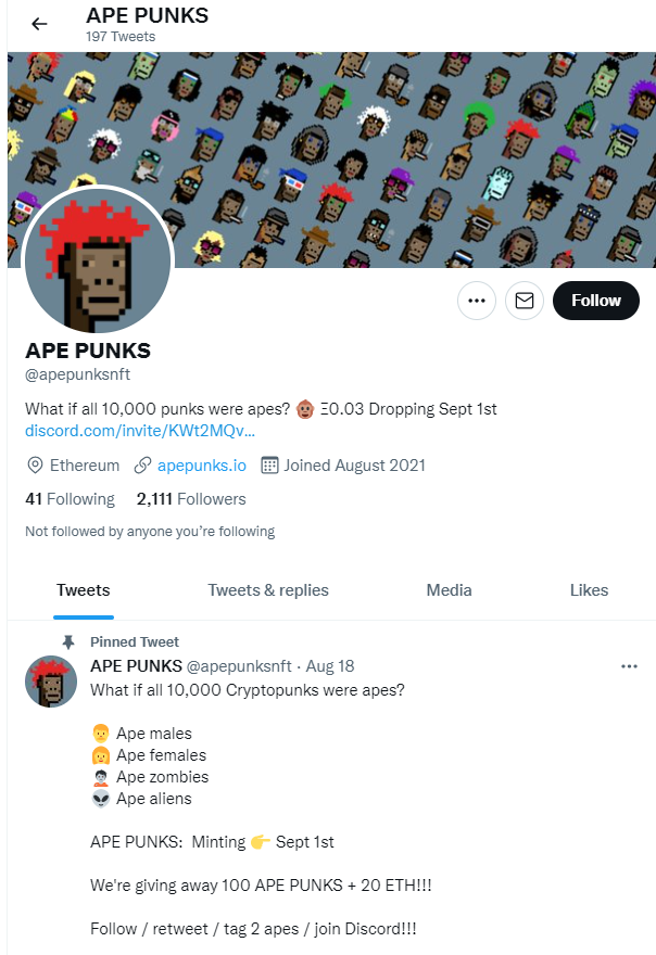 Ape Punks NFT